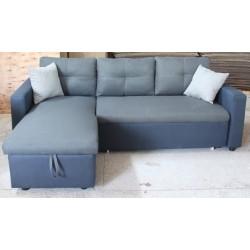 Canapé d'angle convertible RACHEL