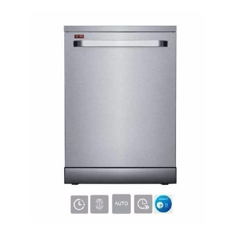 LAVE VAISSELLE 14 Couverts MERLIN INOX A++