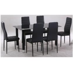 Ensemble table + chaises SHARON