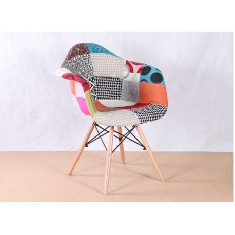 CHAISE MODERNE PATCHWORK