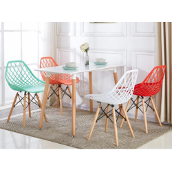 ENSEMBLE TABLE+ 4 CHAISES SCANDINAVE