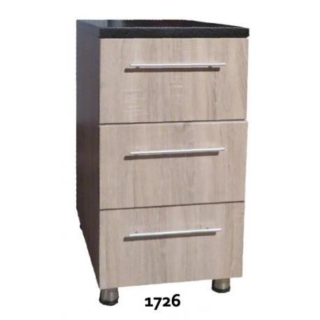 Element Bas 3Tiroirs 1726