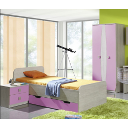 Chambre à coucher TANDI IV ensemble 3 meubles