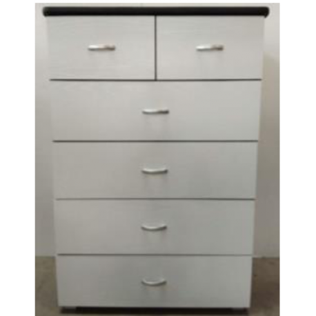 Commode 4T + 2T Blanc