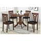 TABLE RONDE 1m de Diamètre (Bois) + 4 Chaises