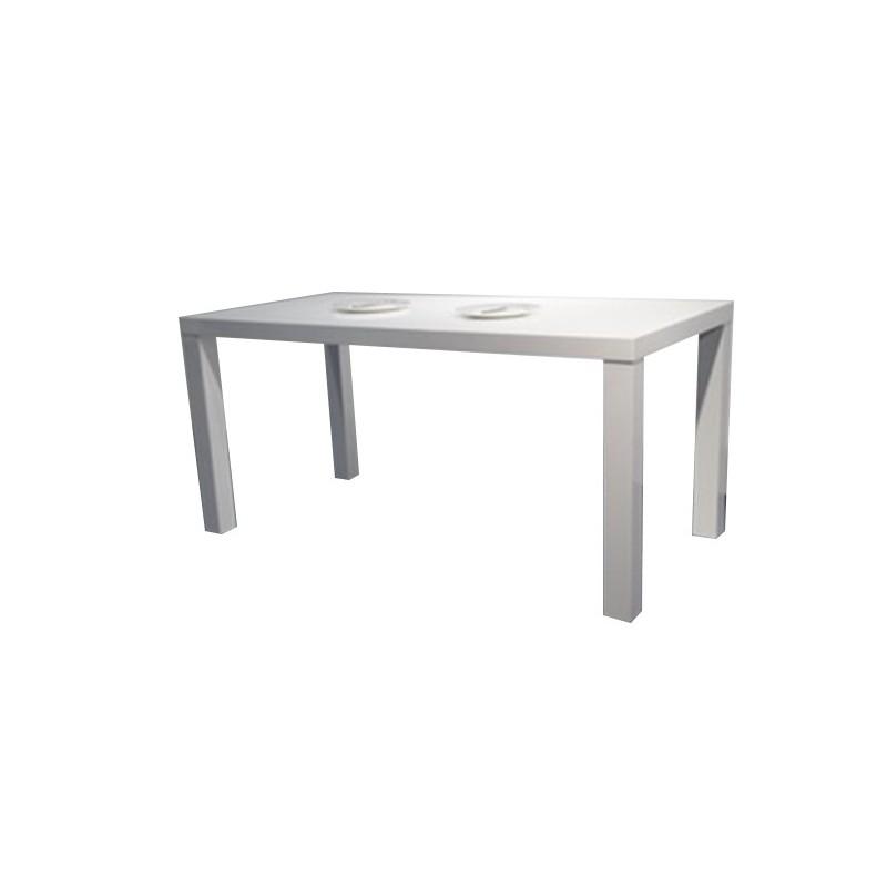 table a manger moderne rectangulaire. Black Bedroom Furniture Sets. Home Design Ideas