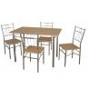 ENSEMBLE TABLE JXA041 + 4 Chaises