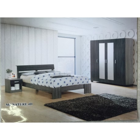 Chambre a coucher Nature MDF