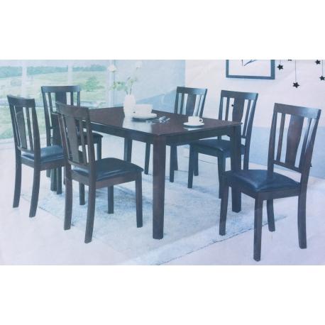 Ensemble Table 1m2 avec 4 Chaises