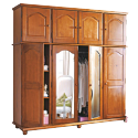 ARMOIRE MF MYVY 4 PORTES